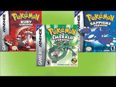 Music from the video game Pokémon Ruby, Sapphire & Emerald from by Nintendo Music by Junichi Masuda, Go Ichinose & Morikazu Aoki ----------------------. Cool Pokemon, Pokemon Games, Pokemon Fan, Battle Towers, Pokemon Emerald, Video Game Music, Gym Leaders, The End Game