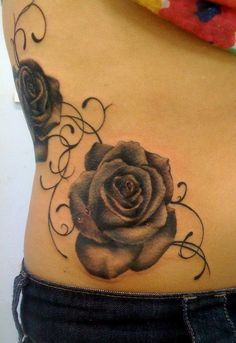 Rose Tattoo  - 100  Meaningful Rose Tattoo Designs  <3 <3