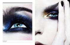 'In the Eye' Dior Magazine SS 2013...makeup by Yadim