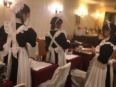 メイド喫茶としては昔々、2005年より連綿と続く初期クラシカルメイドカフェとしての伝統的お給仕を体験してみませんか?ご来店をお待ちしております。pic.twitter.com/jnuT7EJhXJ Maid Outfit, Maid Dress, Asian Fashion, New Fashion, Victorian Maid, Rose Hall, Staff Uniforms, Maid Cosplay, Anime Maid