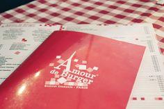 FRANCE - Paris - Restaurant : Amour de Burger Paris