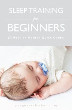 A breakdown of some of the more popular sleep training methods. #baby #sleeping #parenting