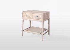 Criado Mudo is an ideal solution to decorate smaller spaces, due to its compact size and unpretentious design. This piece features two useful drawers and a stretcher shelf which are perfect to store the daily essential objects. It's a great bedside table,…