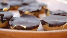 Make these homemade peanut butter cups in place of your kids' favorite candy bar for a healthier treat.