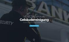 Webdesign Gaggenau, für Venezia Services - Gebäudereinigung und Sicherheitsdienst.