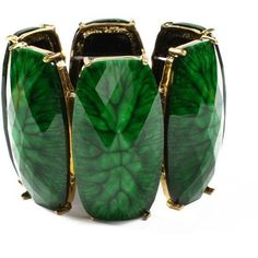 Look at this Amrita Singh Evergreen Stretch Bracelet on today! Stretch Bracelets, Bangle Bracelets, Bracelet Watch, Bangles, Green And Gold, Emerald Green, Emerald City, Jade Green, Brass Jewelry