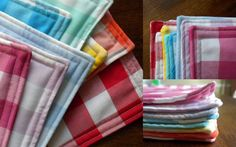 oh, sweet joy!: ((handmade monday)) GUEST POST gingham placemats sewing tutorial