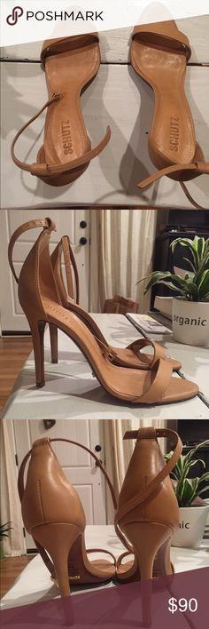 Schultz Size 8 Nude Sandals Only worn once! Size 8 SCHUTZ Shoes Sandals