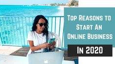 WHY YOU SHOULD START AN ONLINE BUSINESS IN 2020// If you are sick of your 9-5 desk job, not feeling fulfilled with what you do and you're looking for change, maybe the online business world is what you are looking for! Here are a few reasons why i started one and why having an online business can change your life Digital Nomad, You Changed, Online Business, Sick, Feelings, World, The World