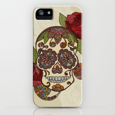 Sugar+Skull+iPhone+