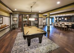 A great spot to hang out with friends or to host a party. (Toll Brothers at Liseter, PA)