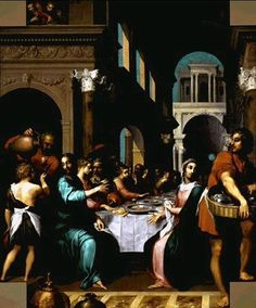 The Marriage at Cana - Quentin Varin http://www.