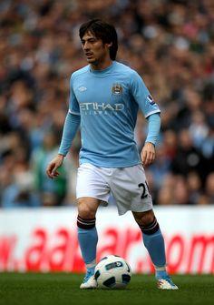 David Silva - Manchester City v Sunderland - Premier League