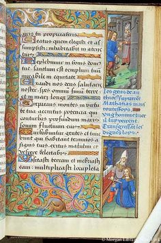 Book of Hours France, Paris, ca. 1500 MS H.5 fol. 127r