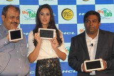 HCL Infosystems Ltd has unveiled two new tablets – the HCL ME U1 and the HCL MyEdu Tab.