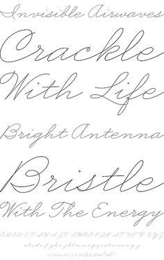 Business Penmanship by Sudtipos - Desktop Font, WebFont and Mobile Font - YouWorkForThem