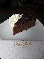 Sacher (Viena) Sacher, Cake, Desserts, Food, Vienna, Tailgate Desserts, Deserts, Kuchen, Essen