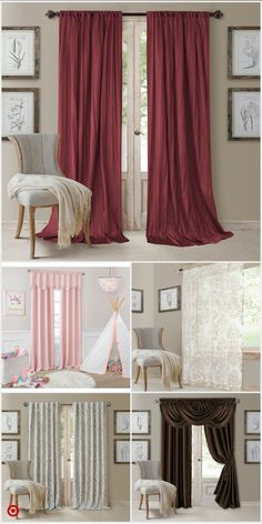 TargetShop Target for drapery rod set you will love at great low Yellow Curtains, Drapes Curtains, Scarf Curtains, Bedroom Curtains, Valances, Drapery Rods, Curtain Panels, Magnolia Home Decor, California Room