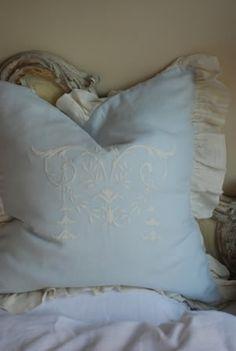 Celeste Linen Pillow Sham
