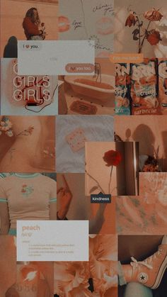 Best News Peach Aesthetic Wallpaper : Peach Aesthetic Wallpaper - lockscreen peach vintage - Orange Wallpaper, Iphone Background Wallpaper, Retro Wallpaper, Tumblr Wallpaper, Wallpaper Lockscreen, Trendy Wallpaper, Aesthetic Pastel Wallpaper, Aesthetic Backgrounds, Aesthetic Wallpapers