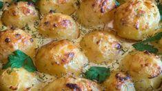 Cartofi la cuptor in sos gorgonzola