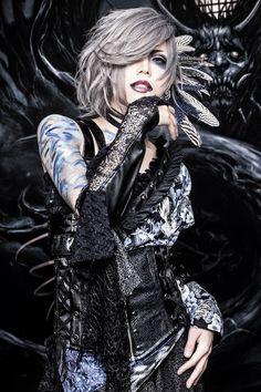 Steampunk Corset, Gothic Corset, Steampunk Clothing, Gothic Lolita, Steampunk Necklace, Victorian Gothic, Tokyo Fashion, Emo Fashion, Gothic Fashion