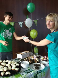 Staff and students come together to raise money for Macmillan Cancer Support. 2013.