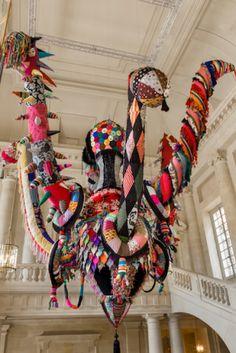 Slideshow: Joana Vasconcelos at Versailles   Artinfo