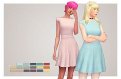 super simple CL dress