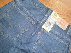 NEW! BOYS 11H husky LEVIS 550 blue DENIM JEANS relaxed fit 31x27 NWT! $34 #Levis #Relaxed #Everyday