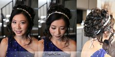 Wedding BOHO 2019 flowers hair vine, Rustic Bridal hair crystal vine, Bridal hair accessories, Wedding hairpiece with flowers - Makeup Tips Asian Makeup Before And After, Bride Makeup Natural, Celebrity Wedding Makeup, Asian Bridal Makeup, Wedding Makeup Artist, Braut Make-up, Asian Bride, Wedding Hair Pieces, Hair Vine