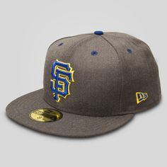 Upper Playground - SF Giants New Era Fitted Cap in Graphite