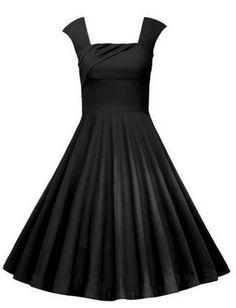 c2413b16b6 New KILOLONE Women Style Plus Size Swing Vintage Retro Rockabilly  Sleeveless Christmas Party Tea Evening Cocktail Dress online.