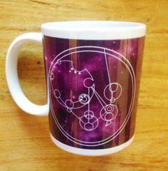Purple Circular Gallifreyan Personalised Dr Who Mug by Hx5Designs, £9.99