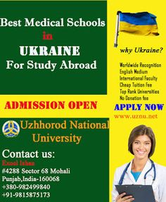 The Uzhhorod National Medical University takes for the students the best postgraduate medical education in Europe that's it on budget and better from the extravagant fee from other universities. Our university also provided the graduate and specialty programs in pharmacy, dentistry, nursing which is more preferable other than nursing schools in Ukraine.