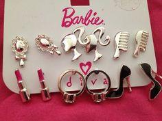 Barbie Girl earrings! want!!!!!!!!