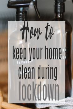 6 Tips to Keep your Home Clean During Lockdown - cleaning hacks to help you stay on top of your housework Simple House, Clean House, Baby On A Budget, Clutter Free Home, Today Tips, Amazing Transformations, Soap Dispensers, Spring Cleaning, Getting Things Done