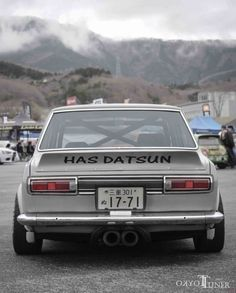 Morishita's Datsun 510 Datsun 510, Old School Muscle Cars, Nissan Infiniti, Fender Flares, Japanese Cars, Nissan Skyline, Jdm Cars, Retro Cars, Cars And Motorcycles