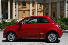 Fiat 500 - Great colour! #fiat500