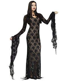 Fun World Women's Miss Darkness Costume, Black, Small Fun... https://www.amazon.com/dp/B00KUBGLZM/ref=cm_sw_r_pi_dp_x_J57aybE747HCE