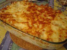 Receitas práticas de culinária: Bacalhau com natas