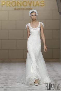Pronovias 2015 collection - Bridal - http://www.flip-zone.net/fashion/bridal/the-bride/pronovias-4739