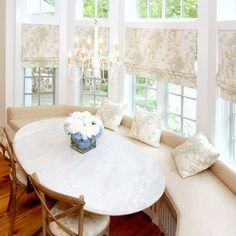 Bay Window Treatment Design Ideas, Pictures, Remodel, and Decor