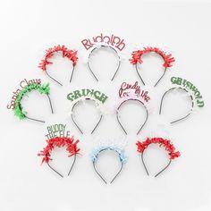 festive holiday headbands