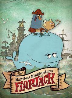 cartoons The Marvelous Misadventures of Flapjack (Van Orman) Cartoon Network 90s, Cartoon Network Characters, Old Cartoon Network Shows, Vintage Cartoons, Classic Cartoons, Vintage Toys, Cartoon Kunst, Cartoon Art, 90s Cartoon Movies