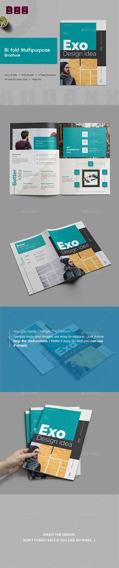Bi fold #Multipurpose #Brochure - #Corporate Brochures