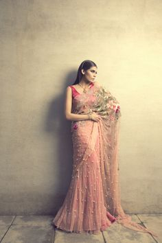 Bridal Collection by Sania Mastakiya. Meet the designer at the Vogue Wedding Show, register here: weddingshow.vogue.in