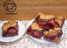 Szilvás - diós kevert kocka | Fehér Katica receptje - Cookpad receptek French Toast, Breakfast, Dios, Morning Coffee