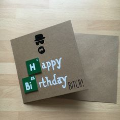 2016.08.14 Lucy's birthday card. Breaking bad style