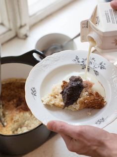 Riisipuuro Oatmeal, Breakfast, Food, The Oatmeal, Morning Coffee, Rolled Oats, Essen, Meals, Yemek